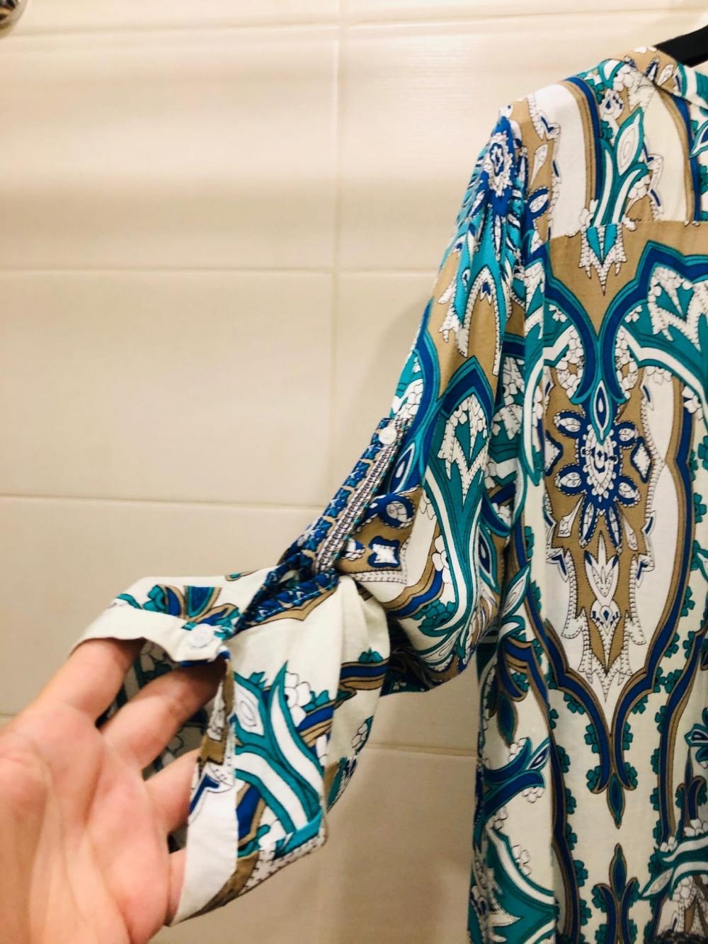 Блузка Cashew Flowr. Размер 46-48.