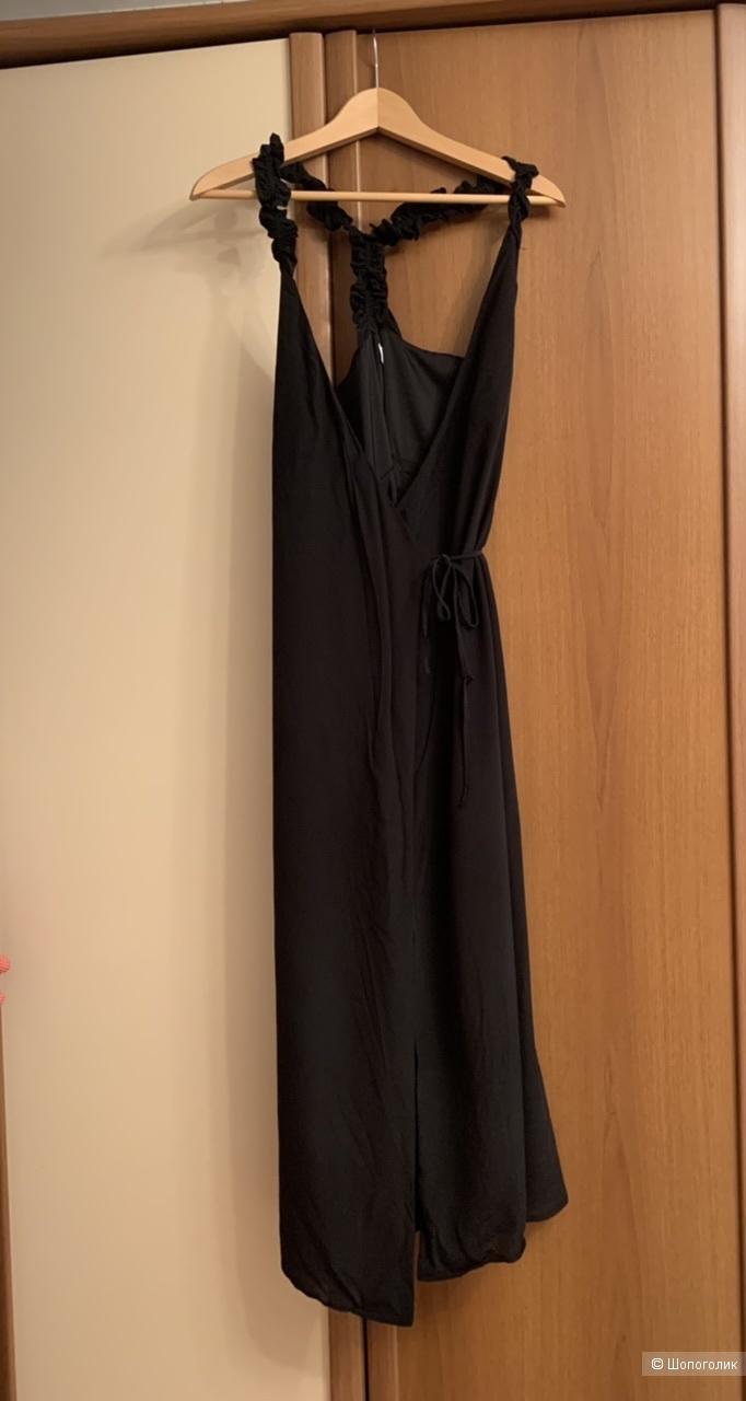 Шелковое платье - сарафан &Other Stories Xs - S Us4