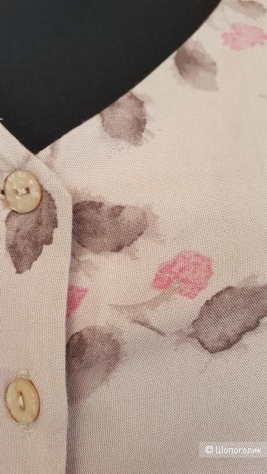 Платье-рубашка  Marks & Spencer.  Размер  16 (50-52)