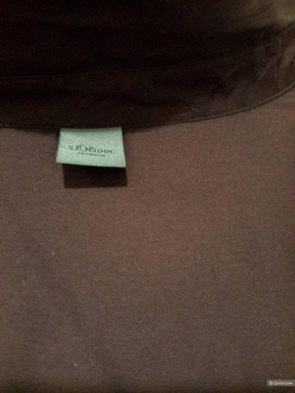 Рубашка S oliver black label premium, размер 16 (48/50/52)