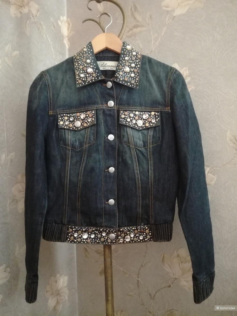 Джинсовая куртка Blumarine размер 40-42