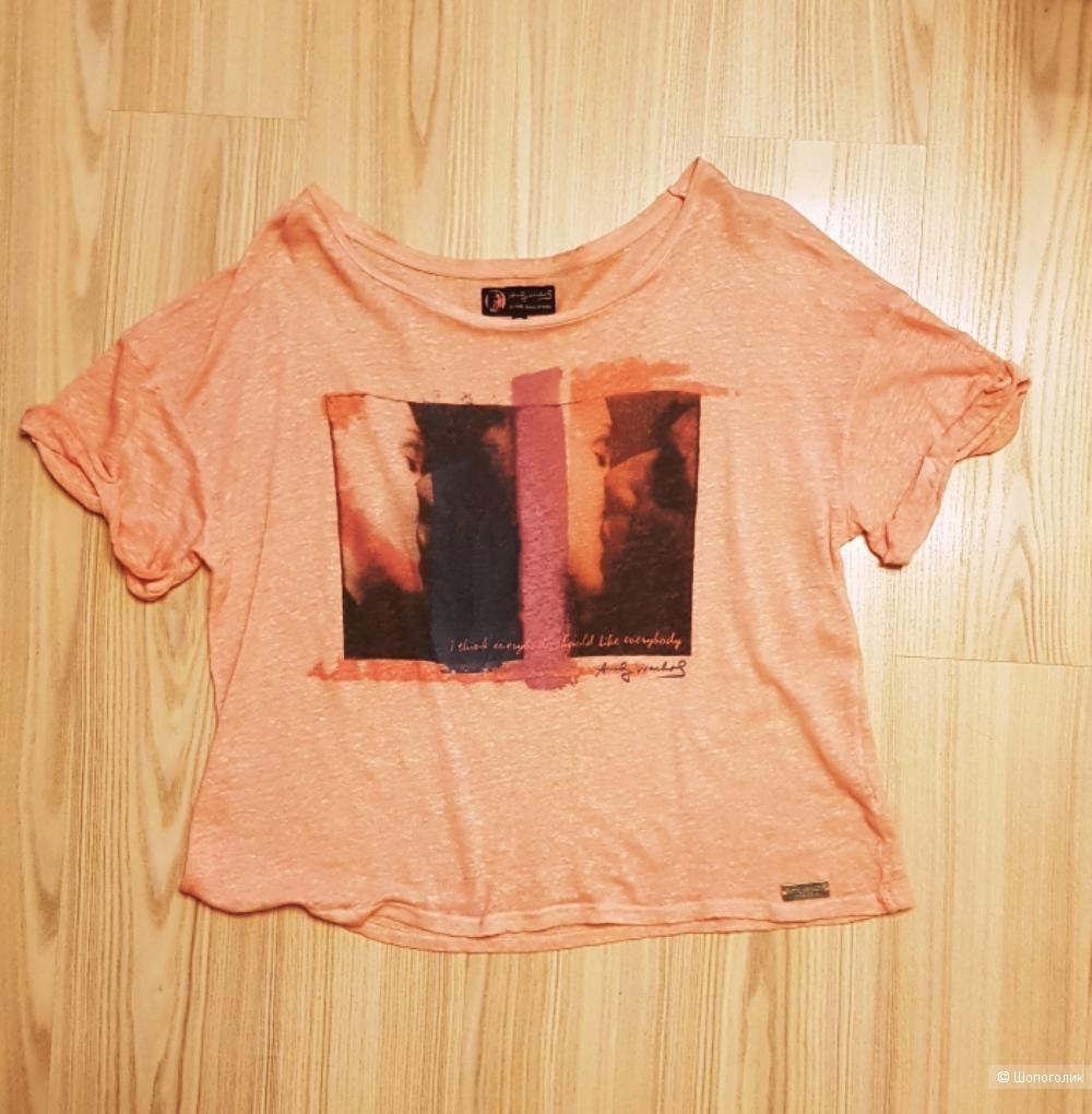 Футболка Andy Warhol by Pepe jeans. Размер M, L, XL