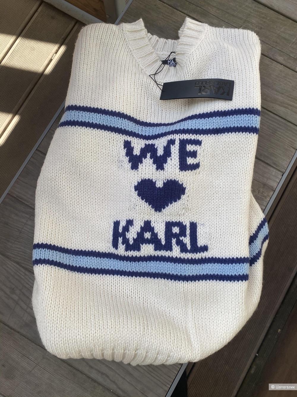 Свитер Karl Lagerfeld, pp L (Оверсайз)