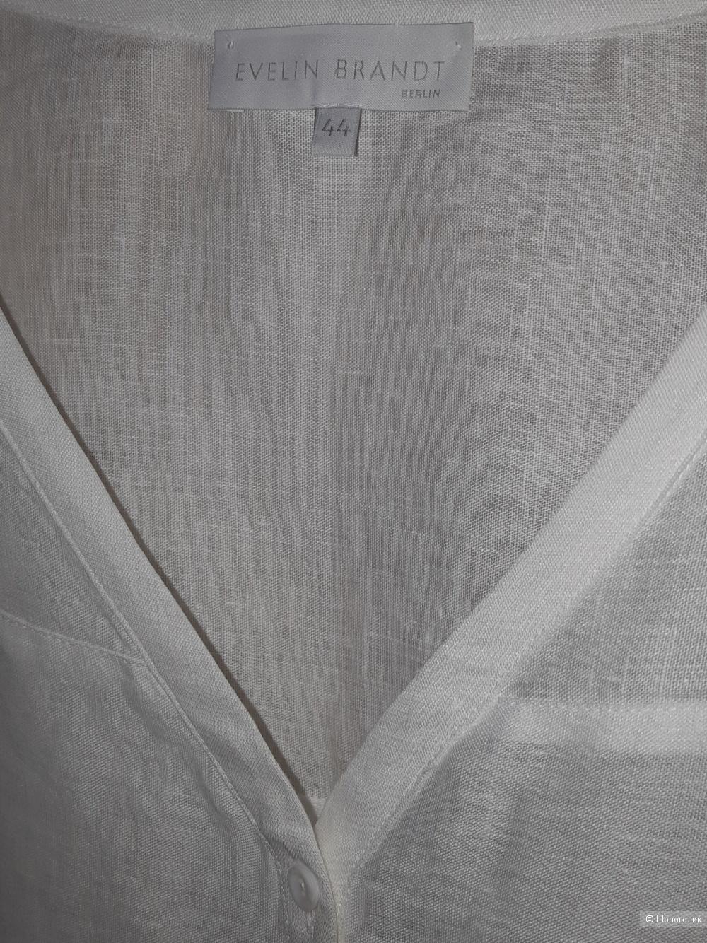 Льняная рубашка evelin brandt, размер l