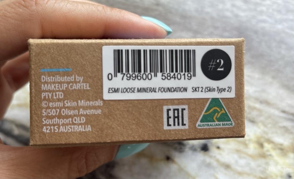 Esmi skin minerals пудра