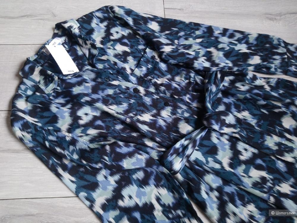 Платье-рубашка  mango, размер M, M+