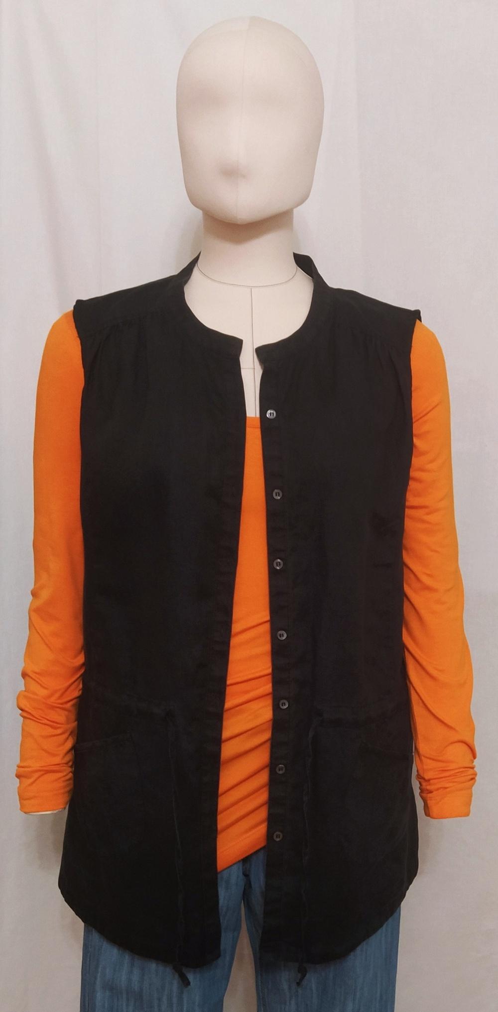 Рубашка изо льна Manokuian для BCBG Max Azria, L