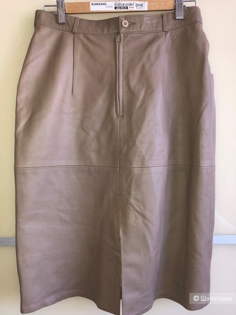 Кожаная юбка JOHN F. GEE, 42D на 46-48 Rus