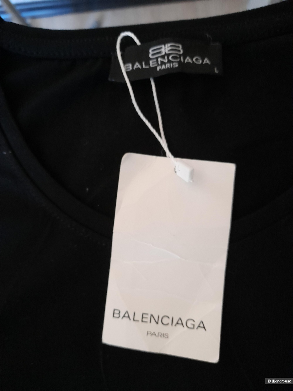 Женская футболка Balenciaga, L