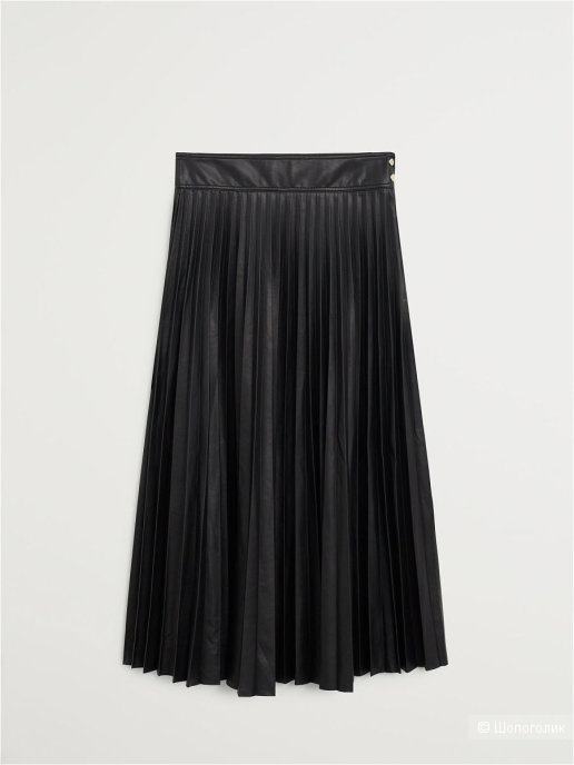 Кожаная юбка mango, размер S/M