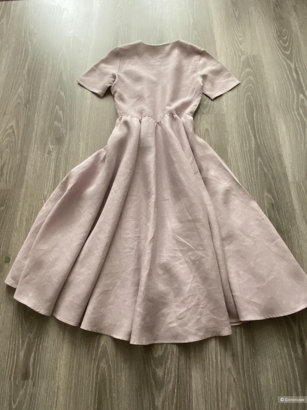 Льняное платье In Linen, размер 46.