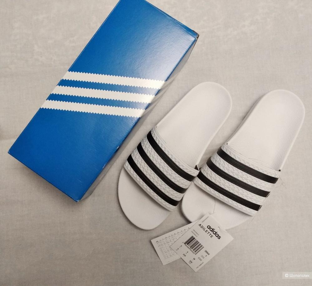 Шлепанцы пантолеты Adidas Originals - adilette. р.36-37