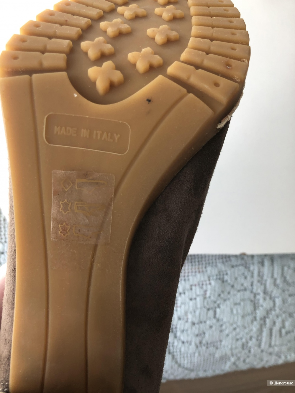 Туфли-ботильоны NW3, UK4