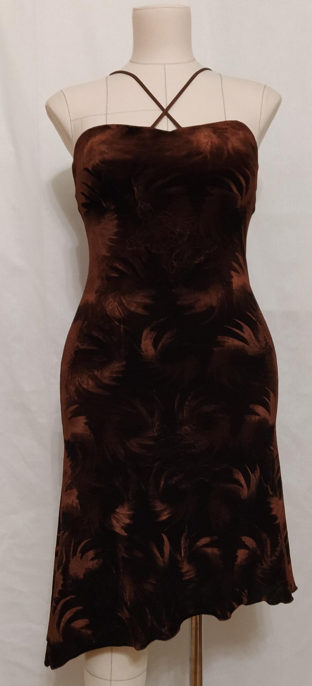 Бархатное платье Perletti, М, S
