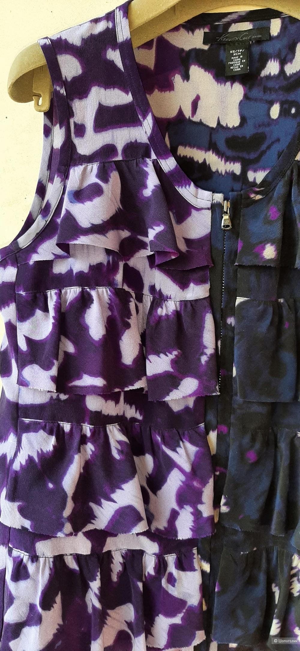 Шелковая блуза-топ Kenneth Cole, на 42-44
