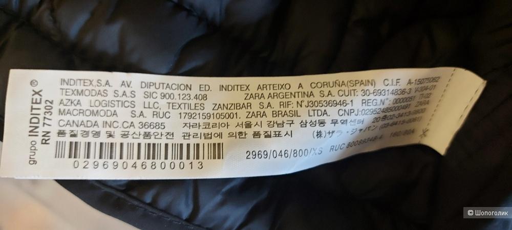 Куртка Zara XS на 42-46 русс