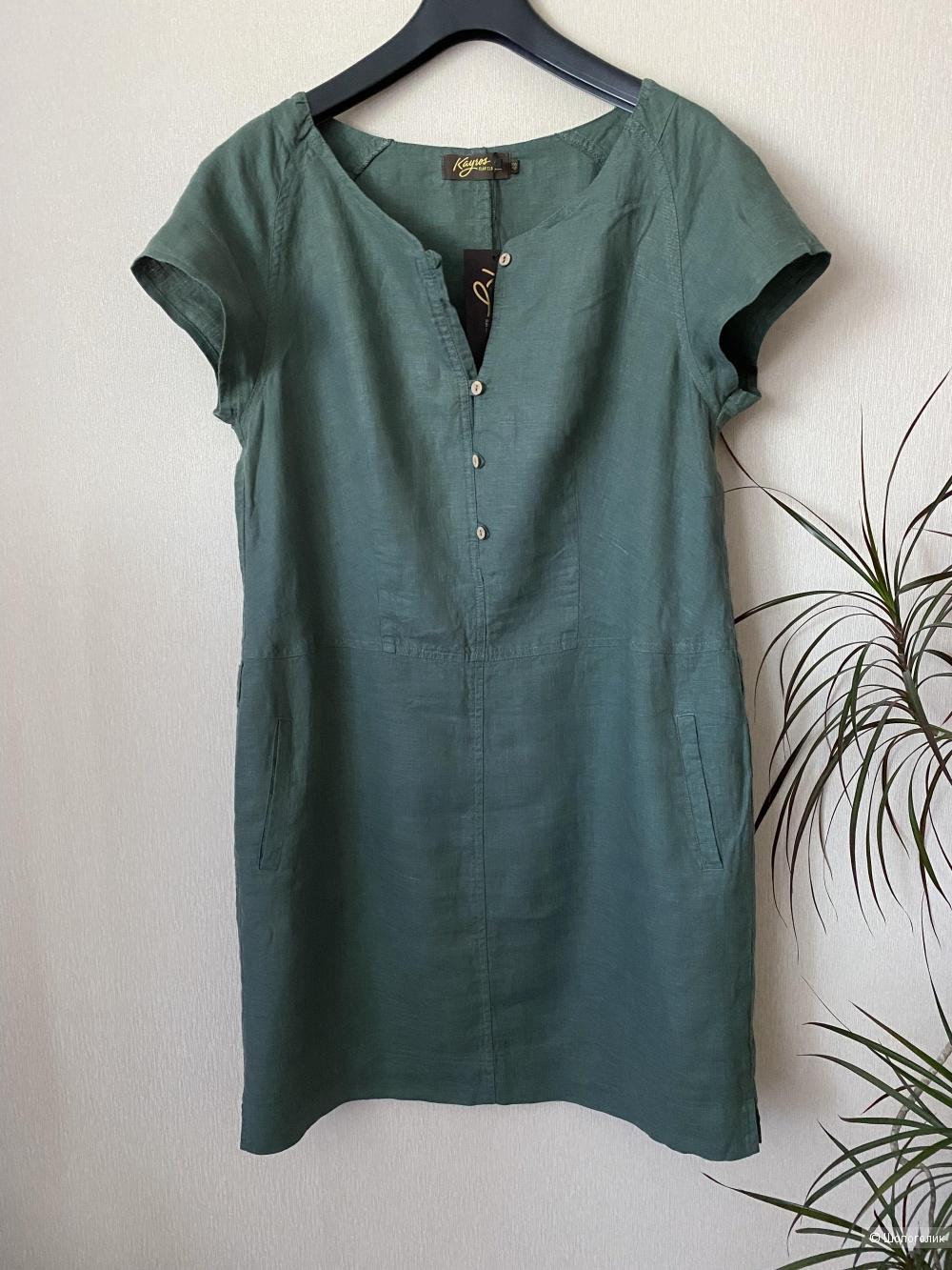 Платье льняное  Kayros,размер 48