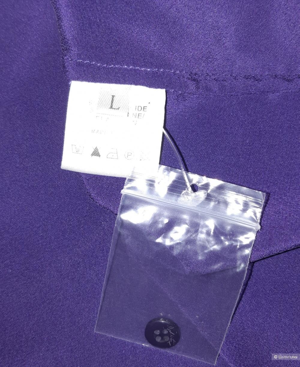 Шелковая рубашка jadicted, размер l