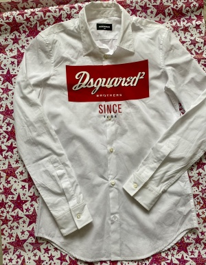 Рубашка DSQUARED2 р.14 лет
