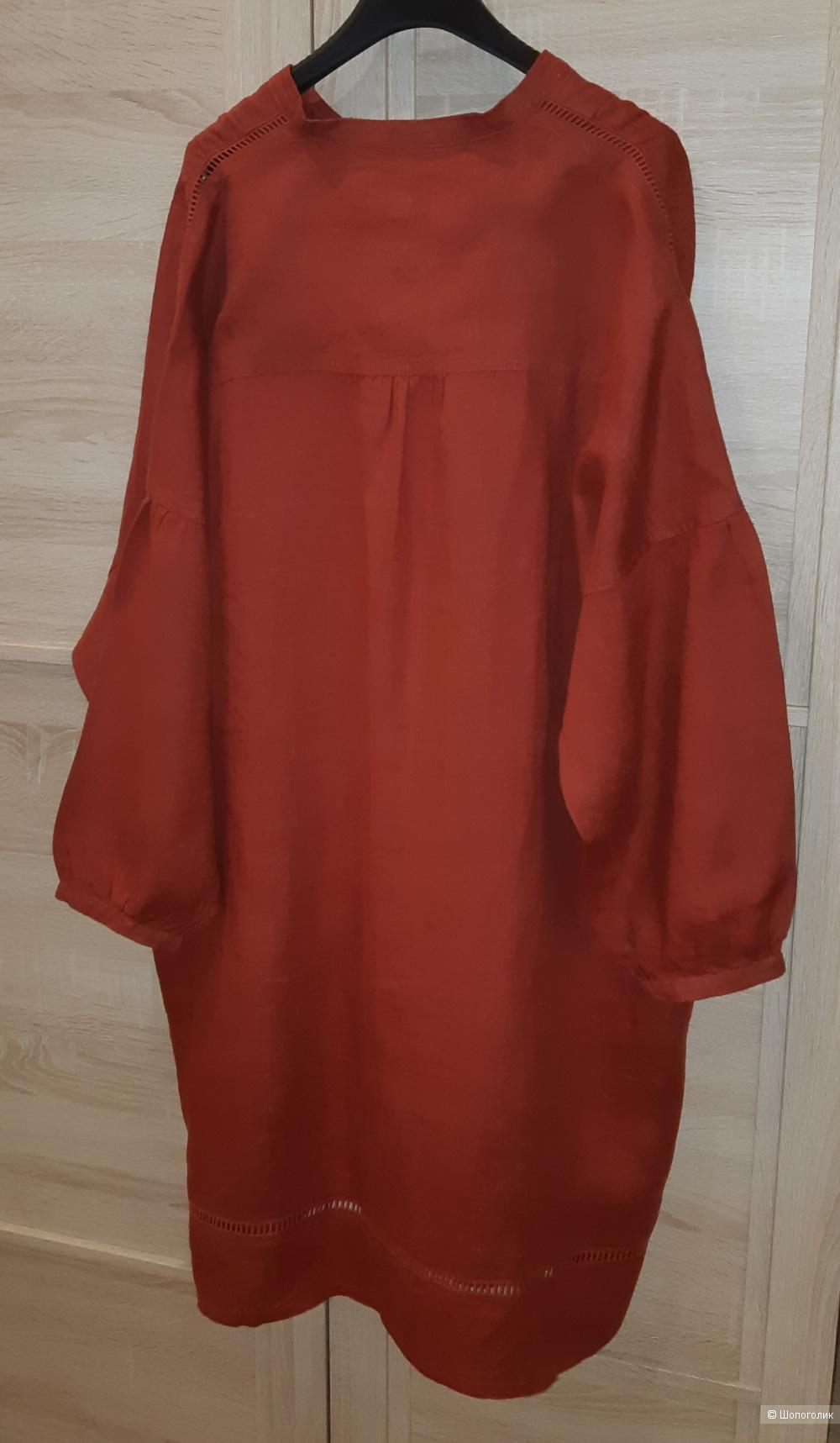 Льняное платье jaeger, размер l