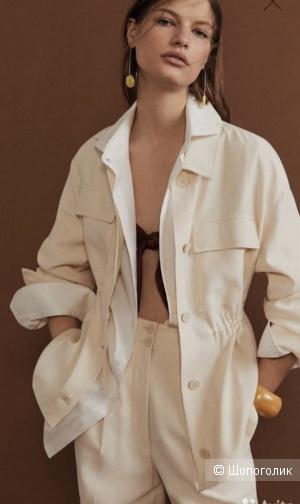 Верхняя рубашка-жакет Mango, размер L