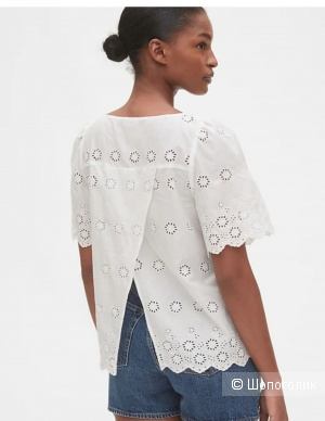 Хлопковая  блуза Gap, размер XL