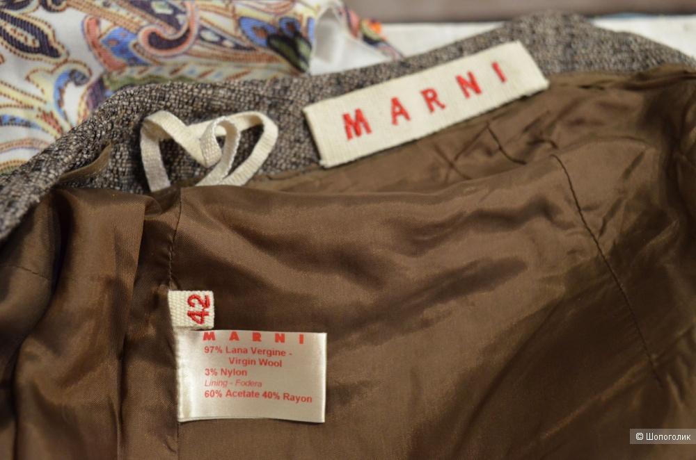 Классическая шерстяная юбка Marni, 42 р.