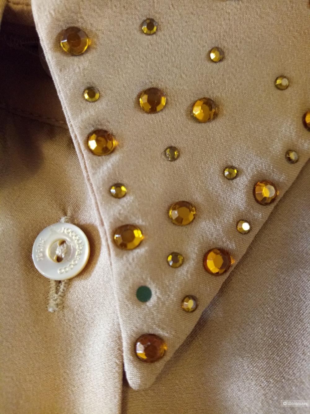 Блузка RoccoBarocco (Италия), размер 52-54 рос