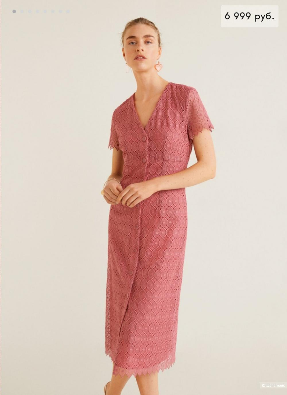 Платье mango 42-44 размер
