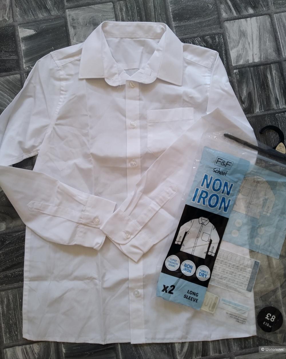 Сет брюки и рубашка F&F размер 10/11 лет