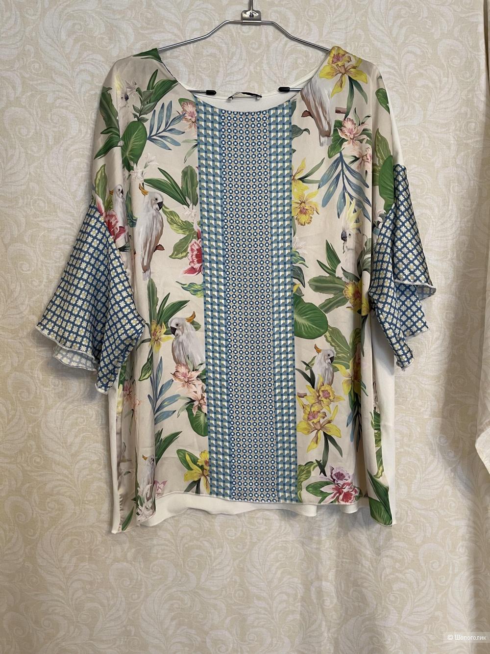 Блузка Zara размер 46/48