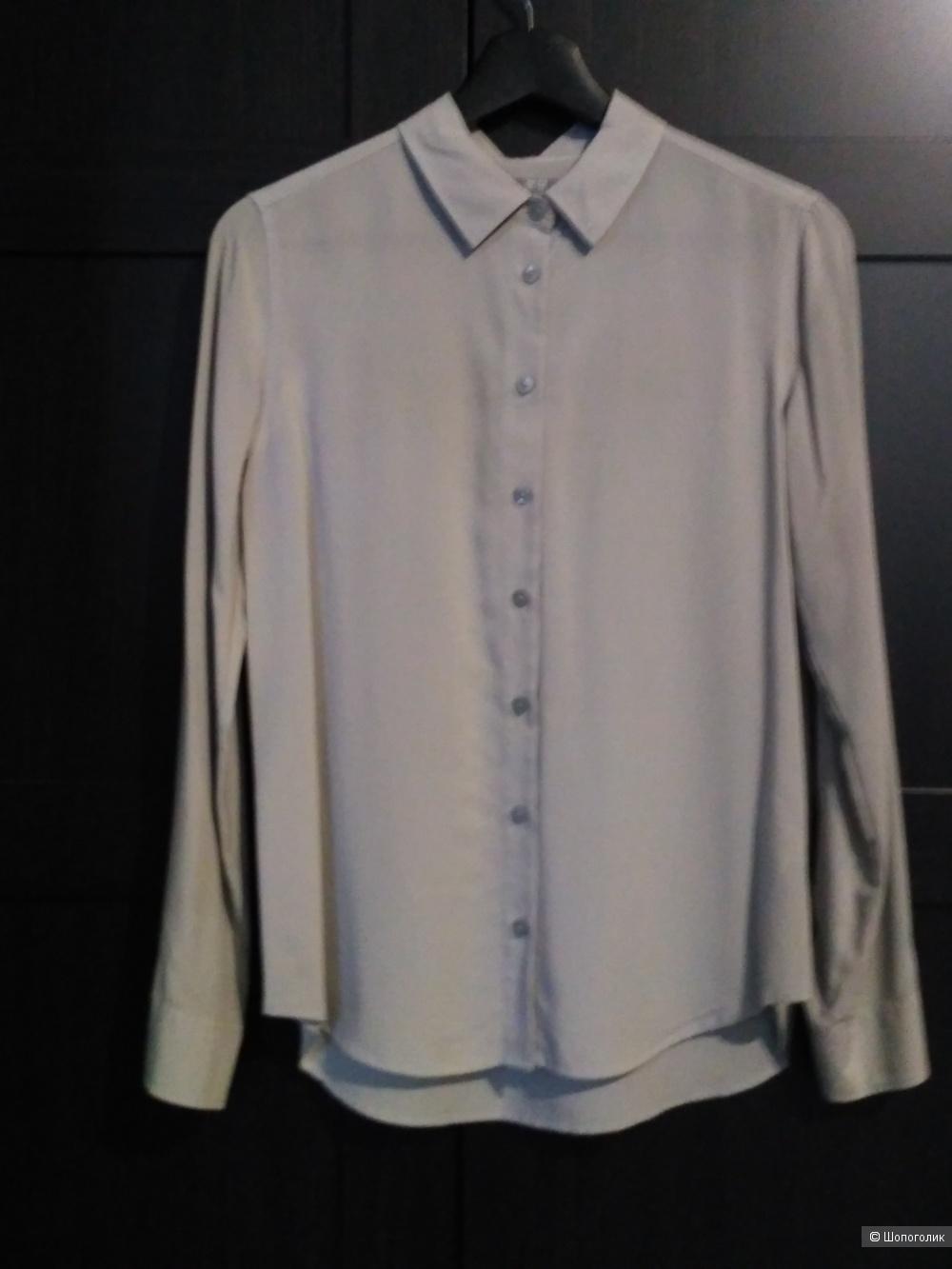 Uniqlo рубашка/блузка из вискозы. р. S