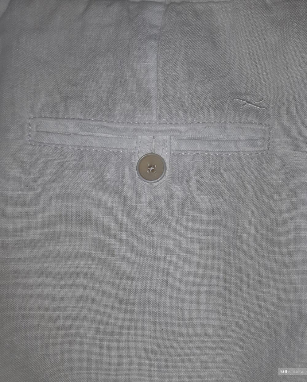 Льняные брюки brax, размер 46/48