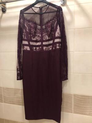 Кружевное платье Coast Melinda. Размер UK 12.