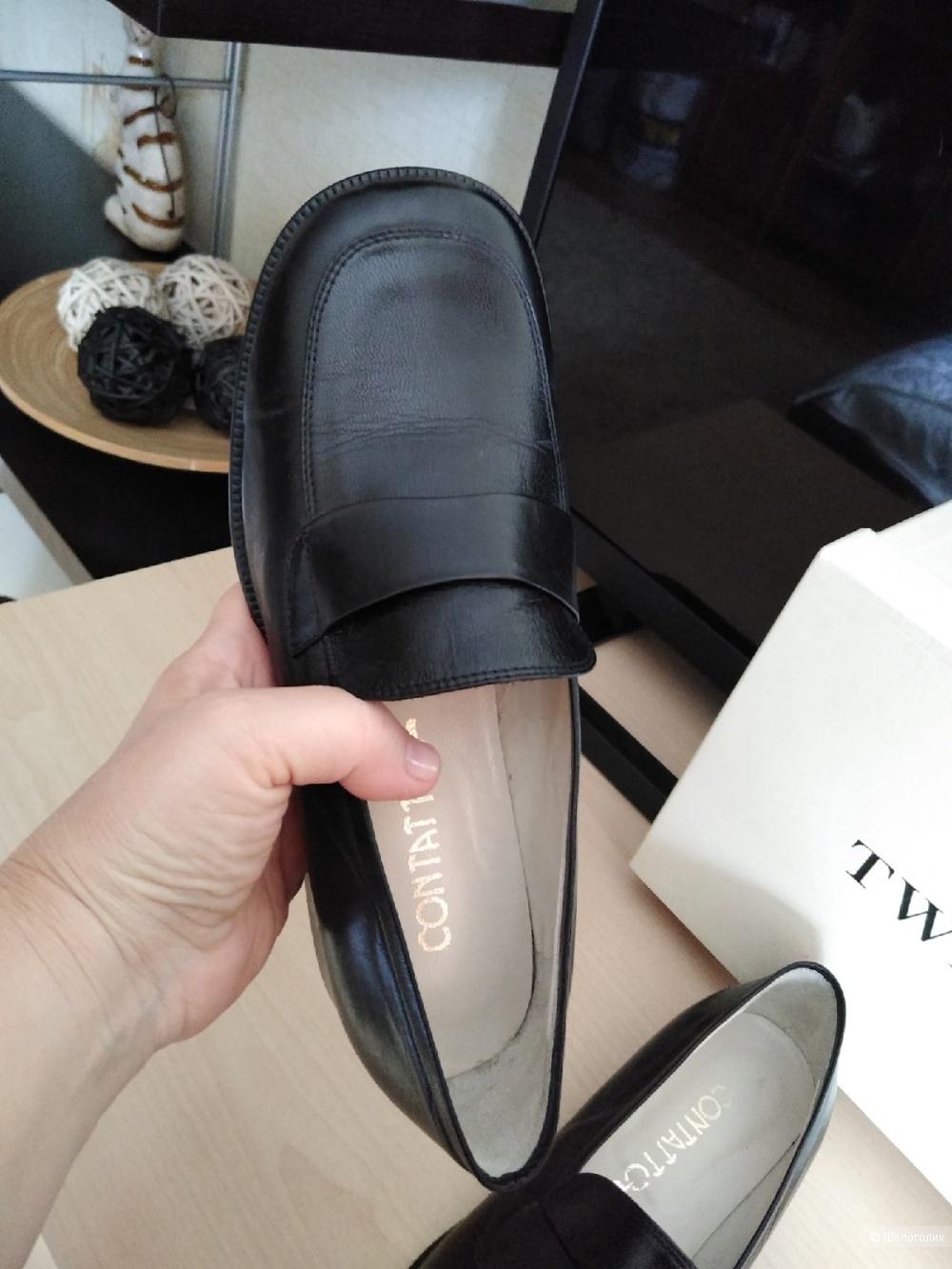 Лоферы (туфли) Contatto. Размер: 36 1/2 (23,5 см).