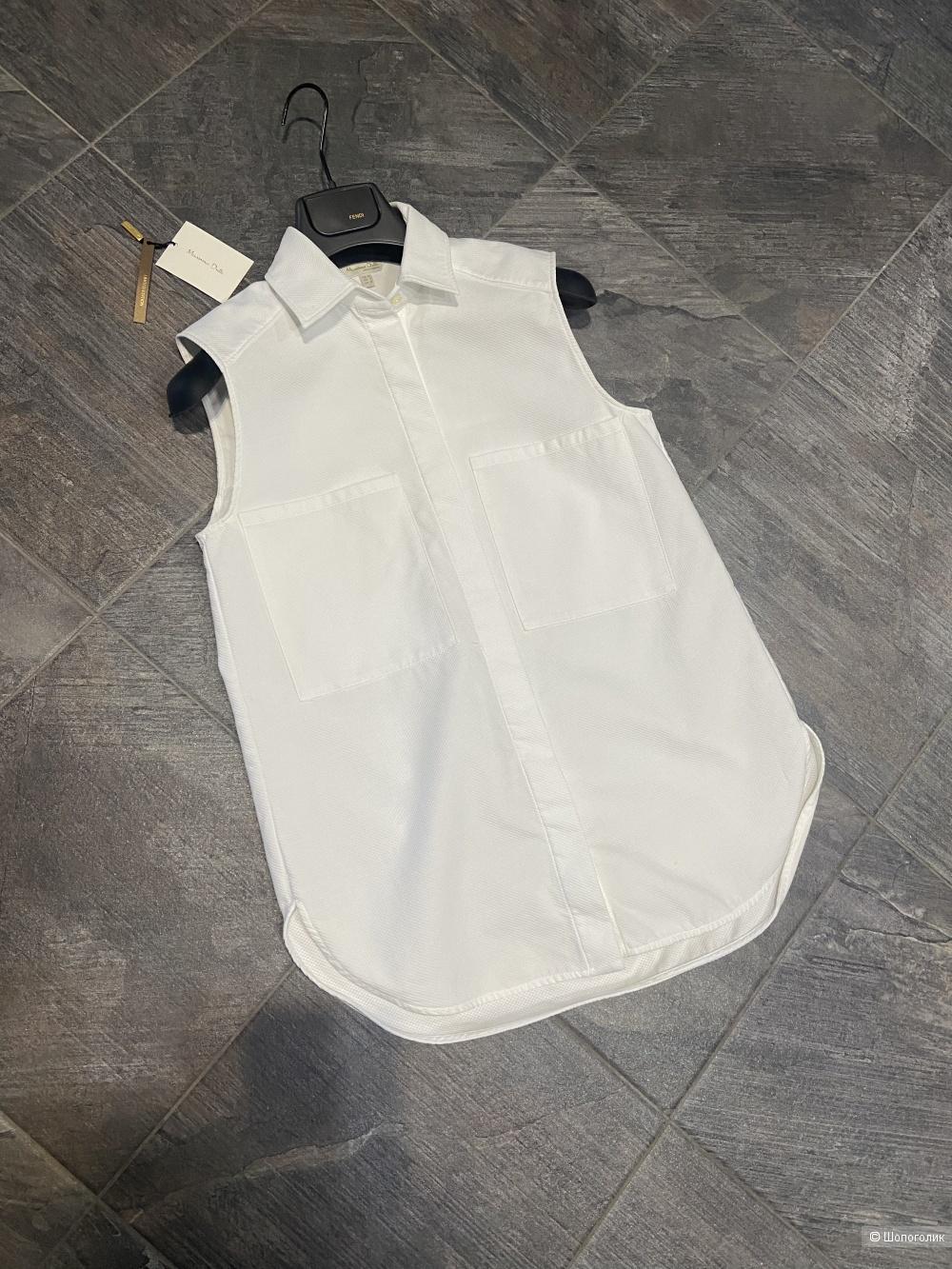 Блузка massimo dutti размер 34( 40-42рус)