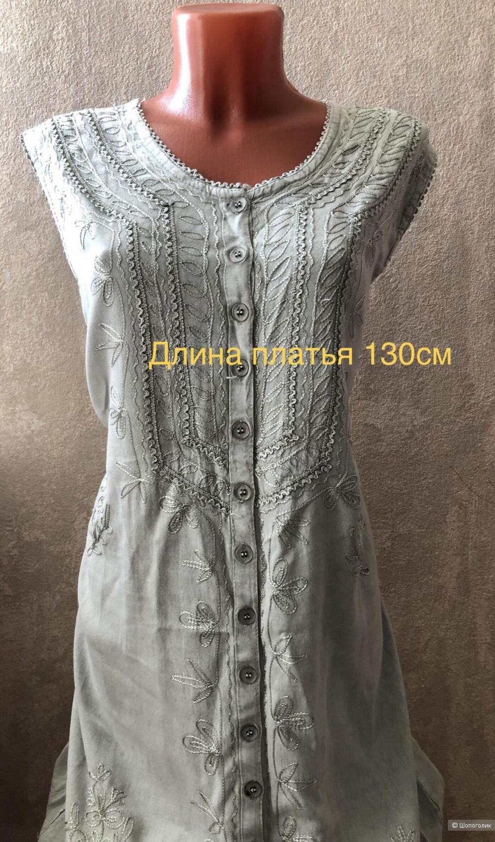 Женское платье р.48-50, Индия