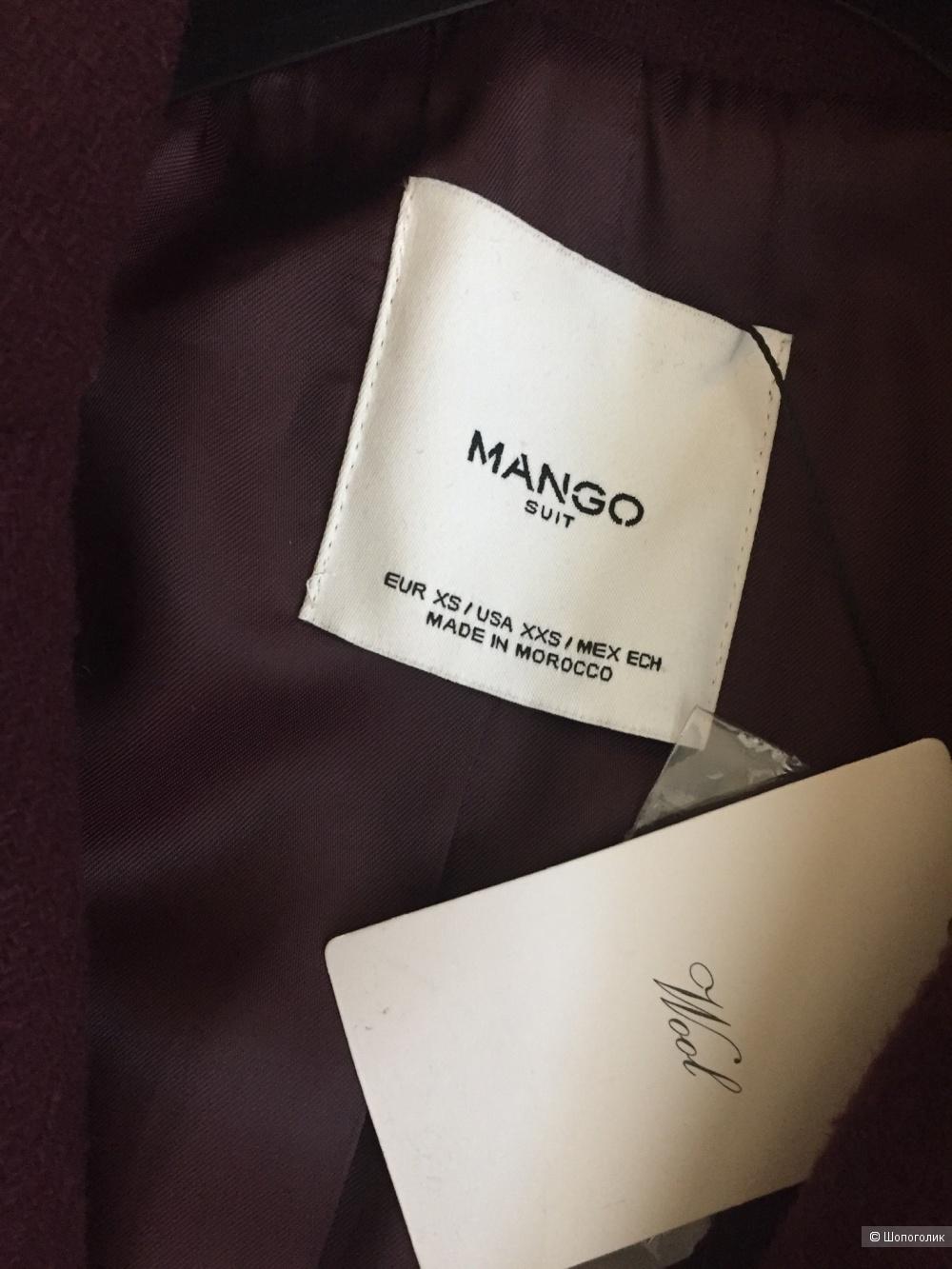 Mango пальто Xs/s