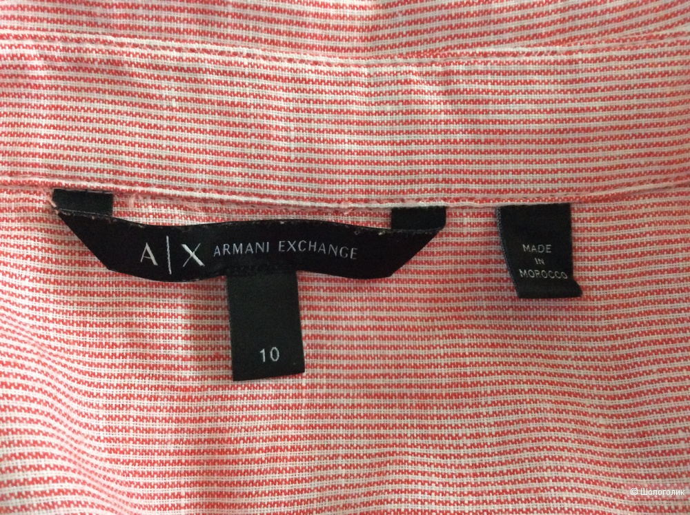 Летнее платье-рубашка Armani Exchange р.10US (на 46-48)