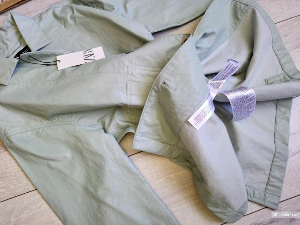 Куртка- рубашка ZARA, размер S/M