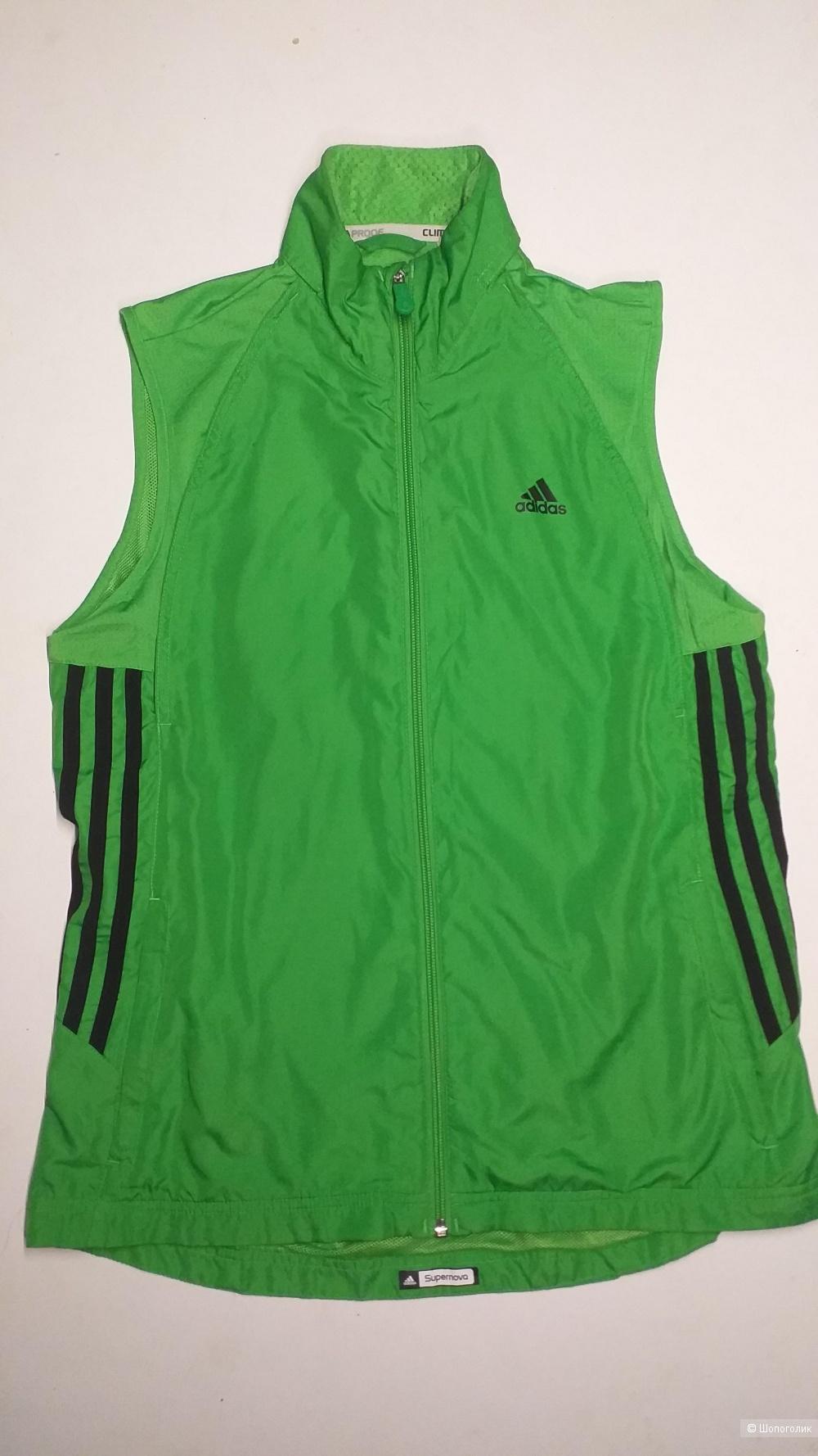 Олимпийка-трансформер и брюки Adidas, р. 44