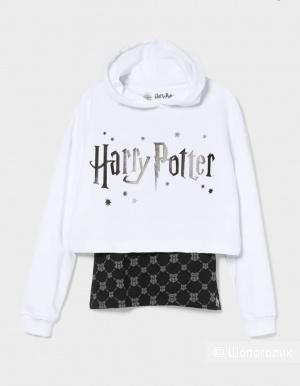 Сет: кроп-худи и топ Harry Potter р.164-170