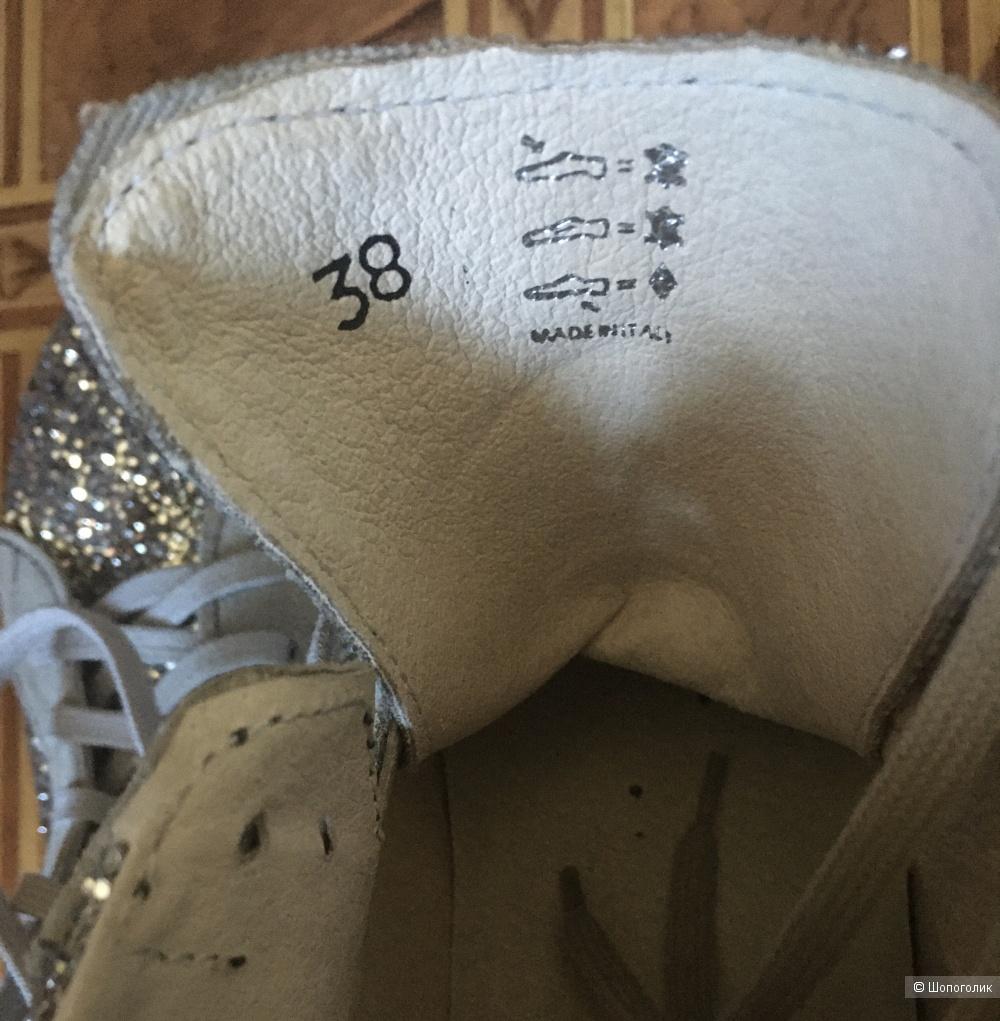 Кроссовки с глиттером Sofie Sсhnoor размер 38 на 37,5 - 37