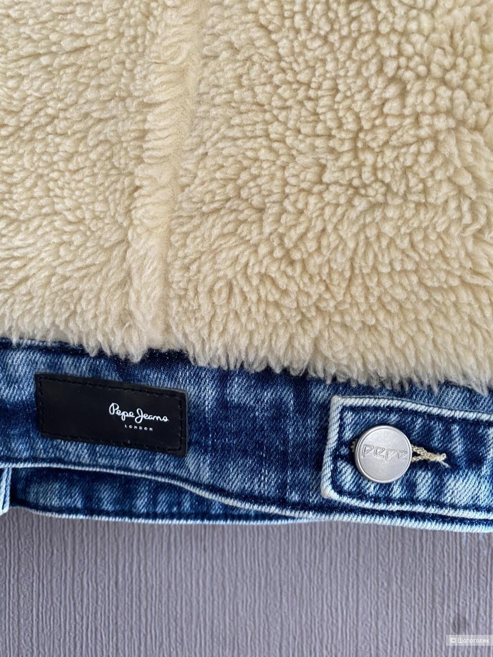Шерстяной бомбер Pepe Jeans London, рр S