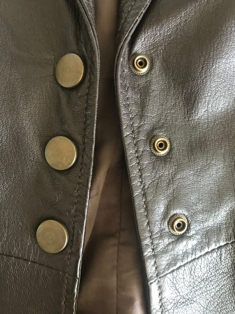 Кожаный пиджак MEXX, размер 44-46