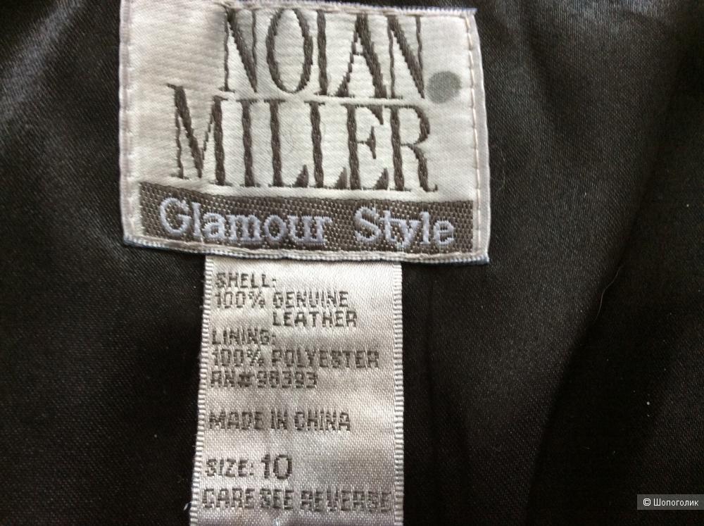Кожаная юбка-карандаш Nolan Miller р.10US