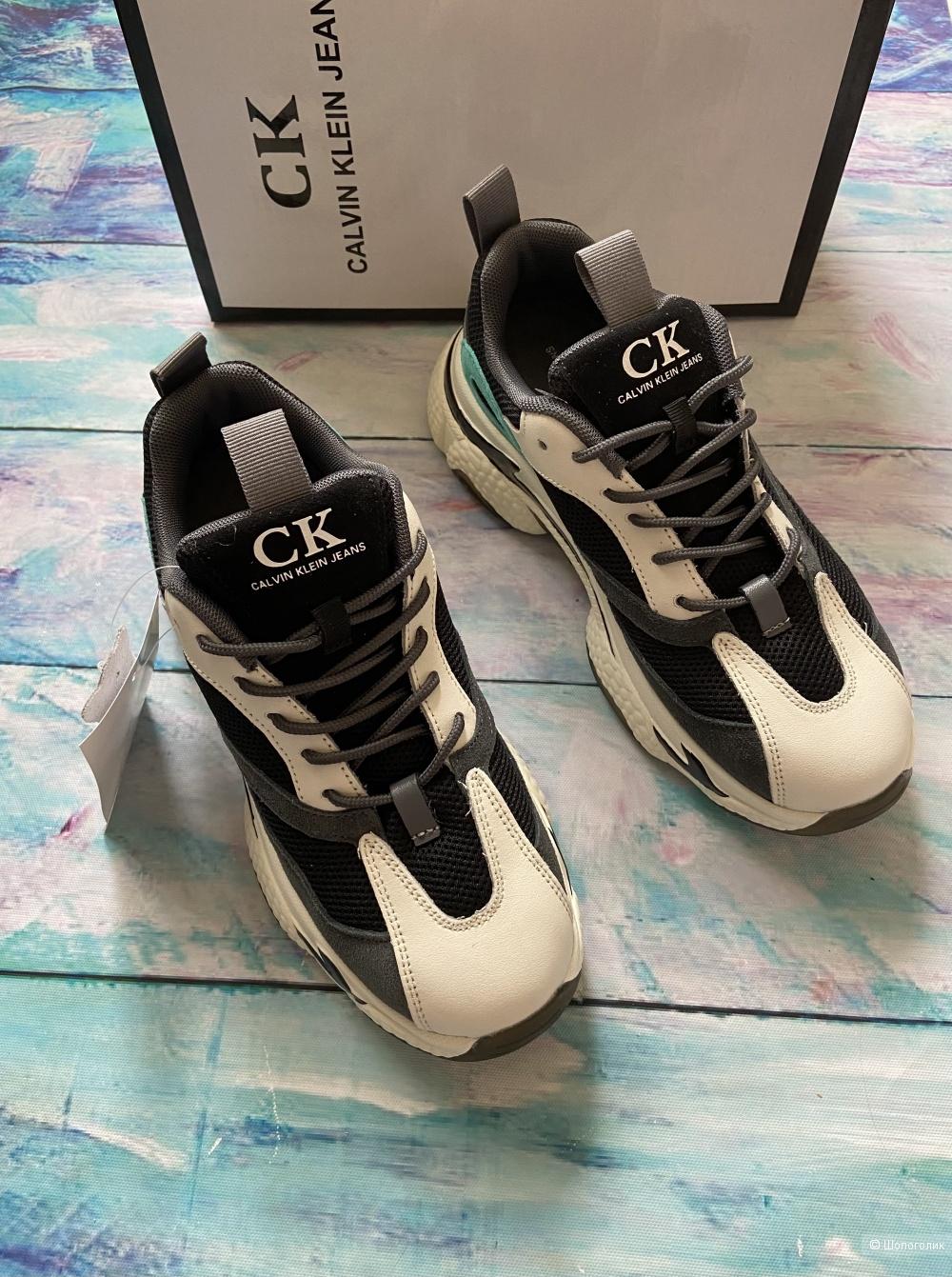 Женские кроссовки Calvin Klein р.37-41 натуральные
