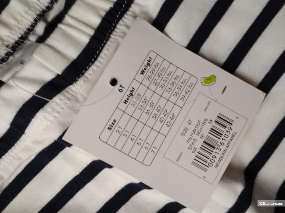 Сет футболка M&S и леггинсы  jumping beans размер 6 лет
