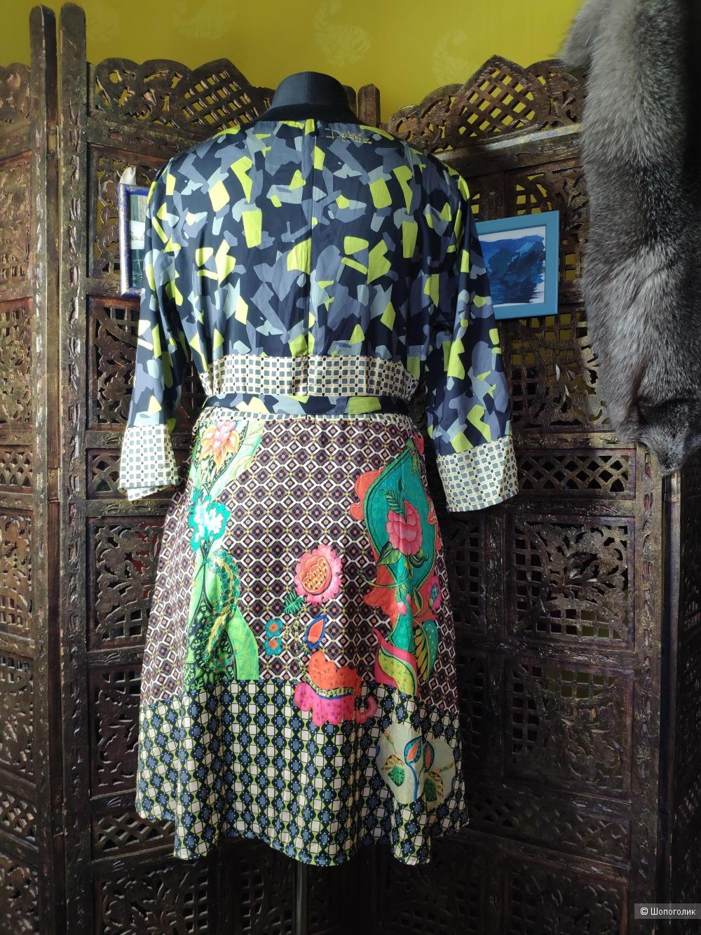 Платье Desigual 50 размера рос.