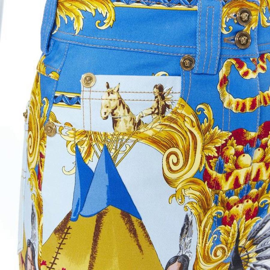 Джинсы Versace, 48